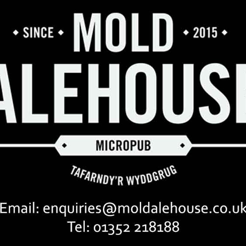 Mold Alehouse Pitch-side Advertising Board