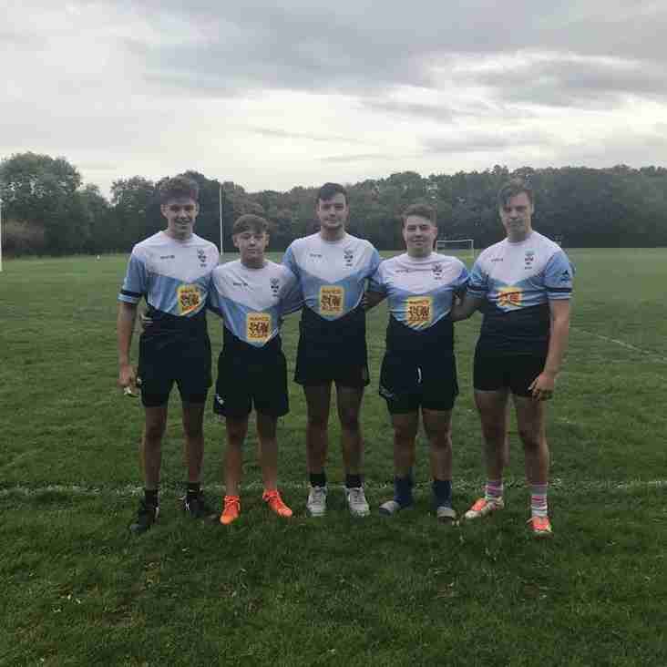 Brentwood U17s First Origin Training Session