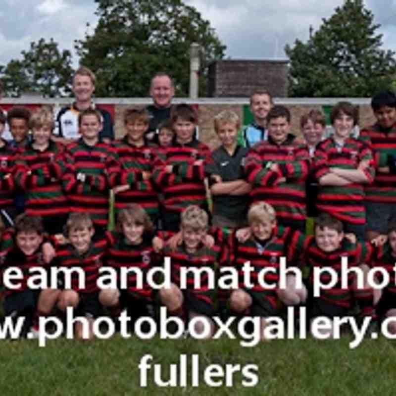 U12 Team shot 2011/2012