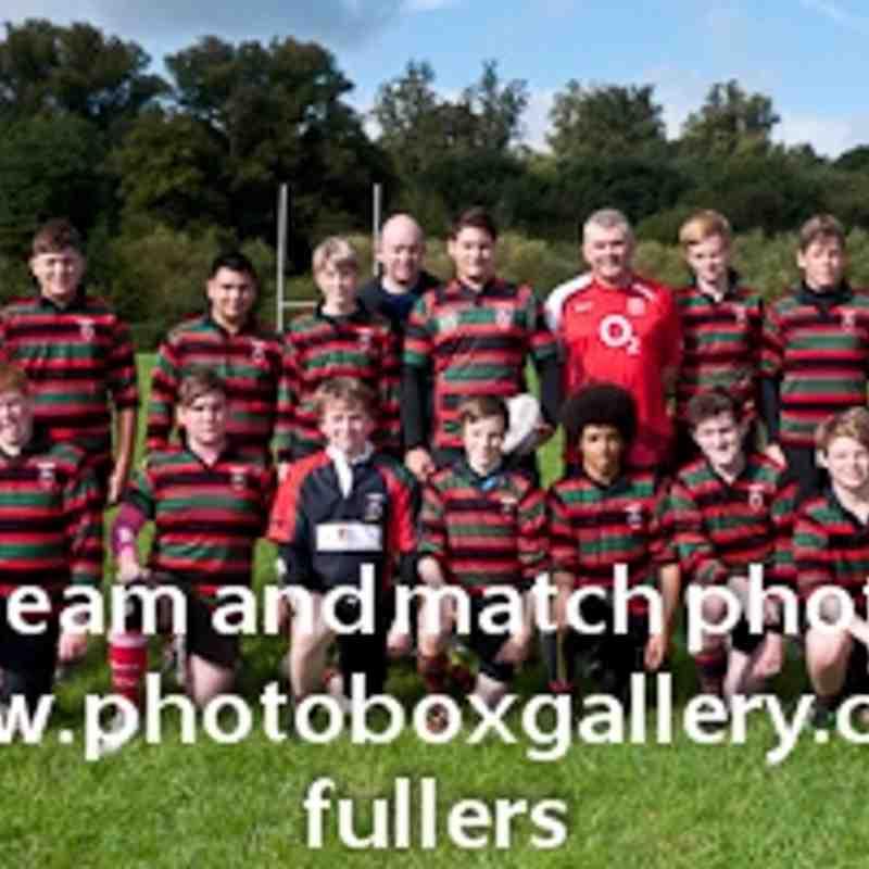 U15A Team shot 2011/2012