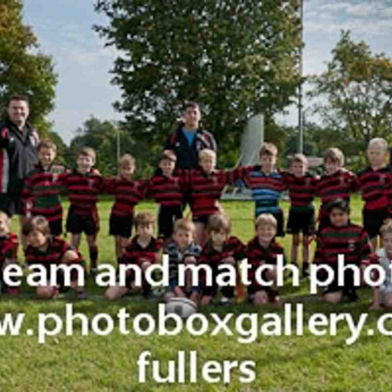 Fullers U8 Team Photo 2011/12