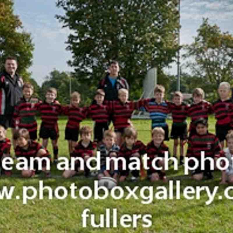 Fullers U8 Team Photo 2011/12