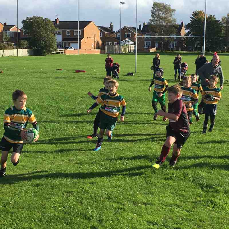 U9's v Acklam+Whitby - Sun 23 Oct 2016