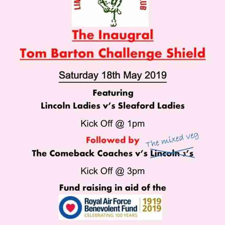 The Tom Barton Challenge Sheild