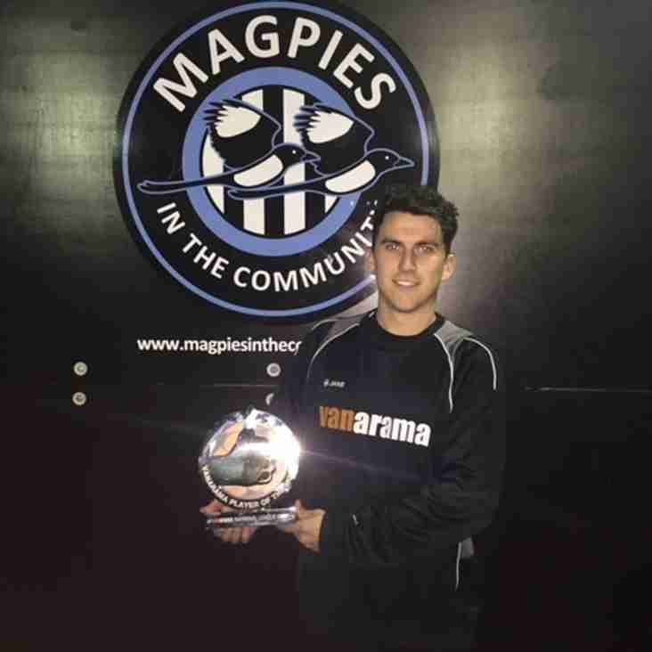 Dave Tarpey - Vanarama National League South Player of the month