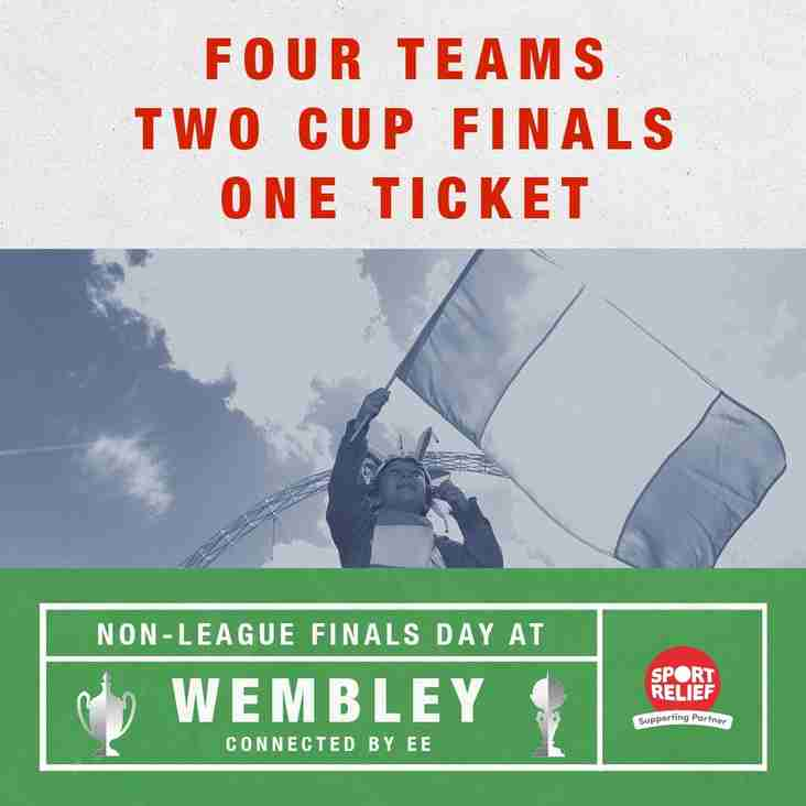 Four Teams Two Cup Finals One Ticket