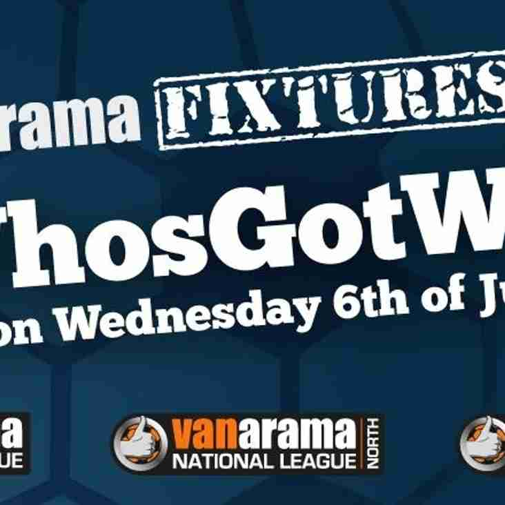 National League Fixtures Released Next Week