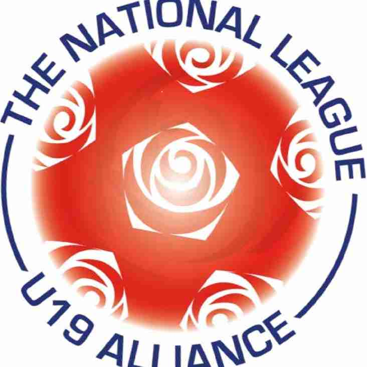 Under 19 Alliance Membership confirmed