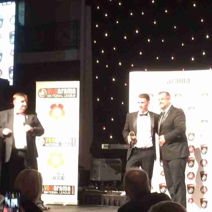 More recognition for the Magpies at the Vanarama National League Gala Awards Dinner