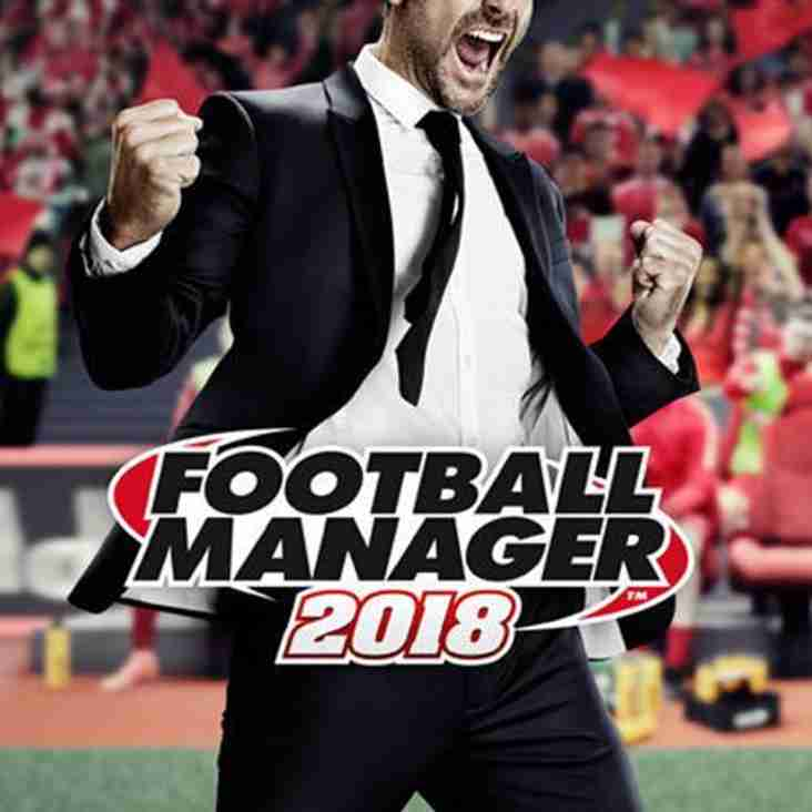 Football Manager 2018 on sale now