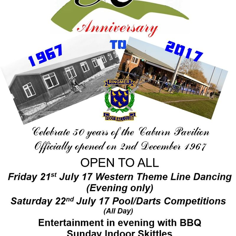 50th Celebration Weekend