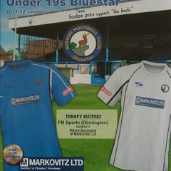 Official Matchday Programme Cover