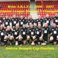 1st Team beat Crigglestone All Blacks 0 - 54