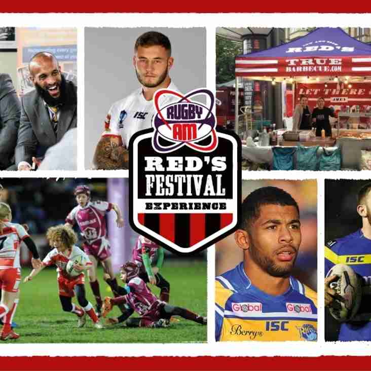 'Red's Rugby AM Festival Experience'