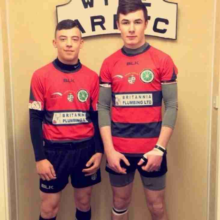 Two Wyke Junior products have played their last fixture for Wyke Open Age Rugby League Team, now that they have been selected for Keighley Cougars 'A' Team