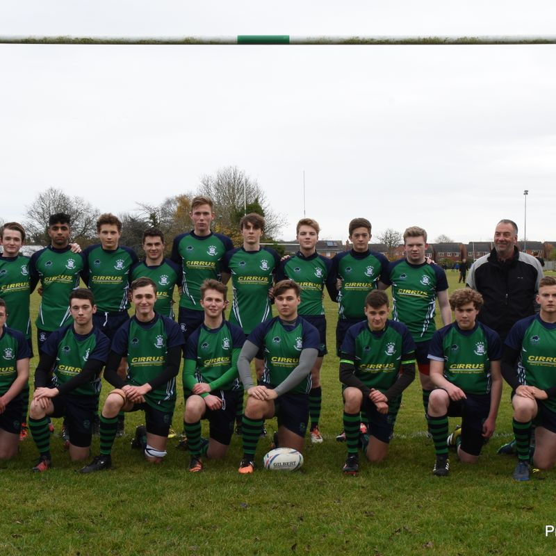 Colts XV lose to Long Buckby RFC 2nds 31 - 38
