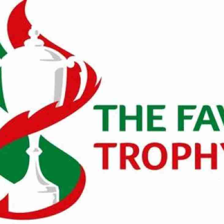 FAW Trophy Round 2 Draw