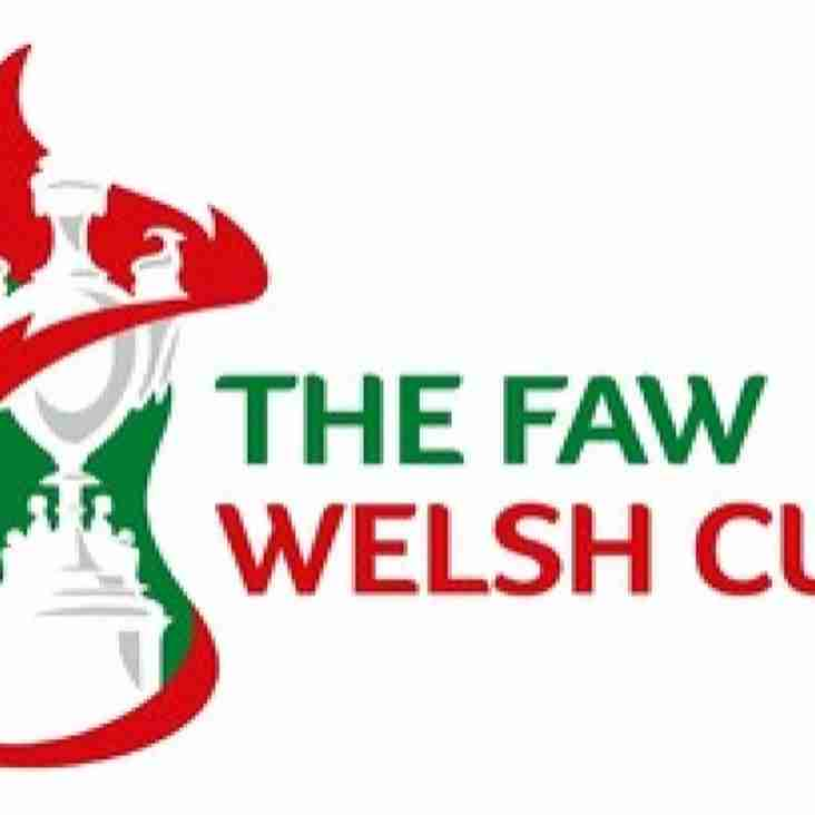 FAW Welsh Cup 1st Qualifying Round Draw