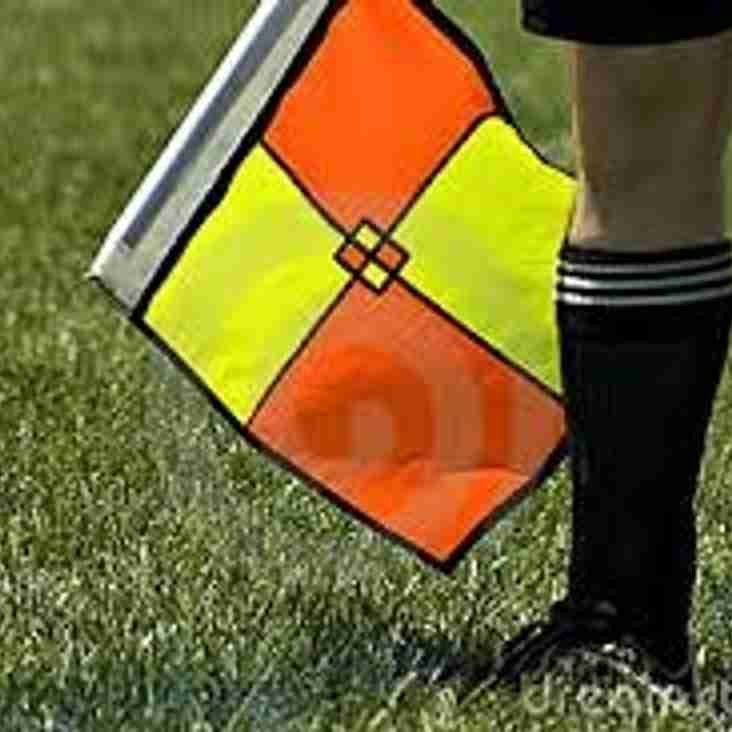NWCFA Referees Course also to begin at Llangefni Town FC
