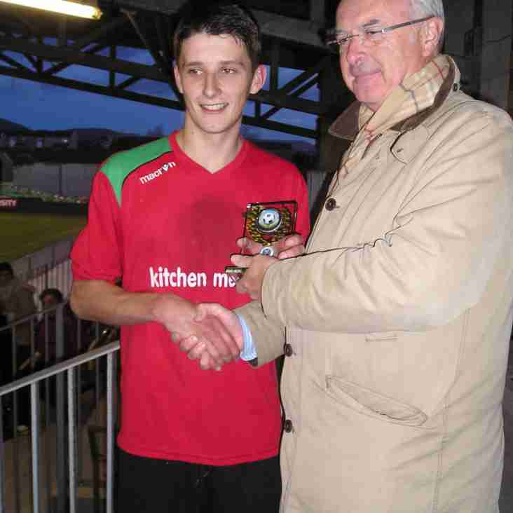 CPD Y Felinheli's two goal hero Iwan Owen