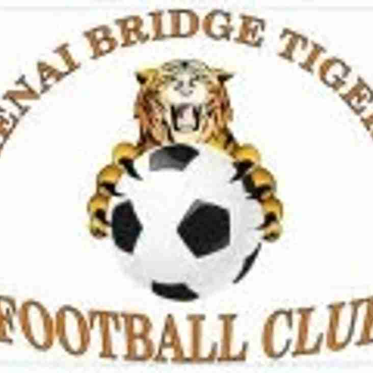 Menai Bridge Tigers FC roar back to claim pole position