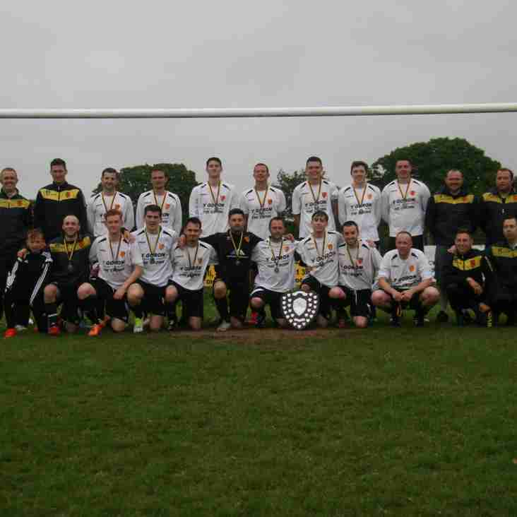 Aberffraw are the League's Runners-up