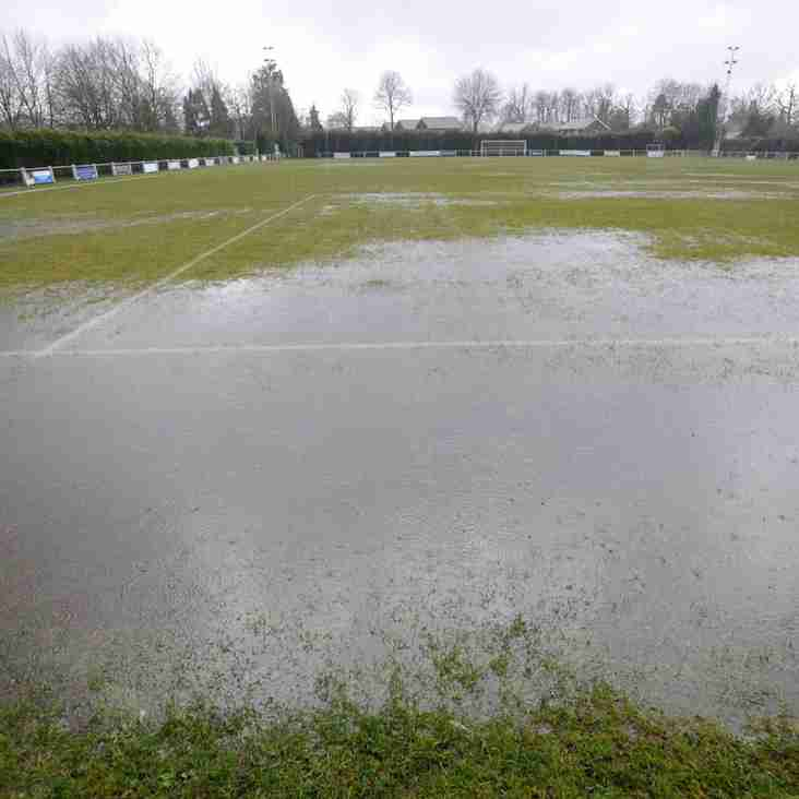 Easter Monday fixtures a total washout