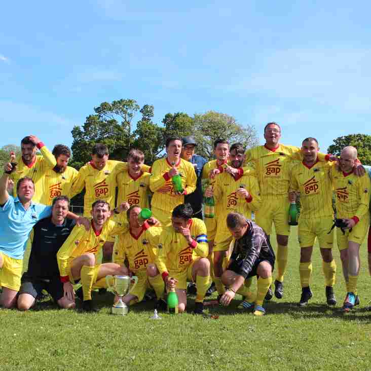Holyhead Town FC are crowned Gwynedd Football League