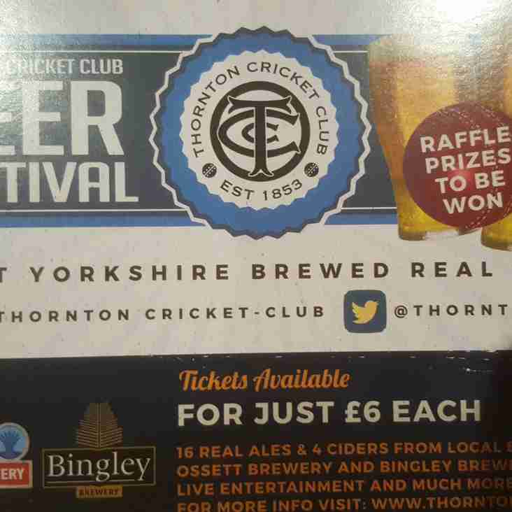 Thornton Beer Festival