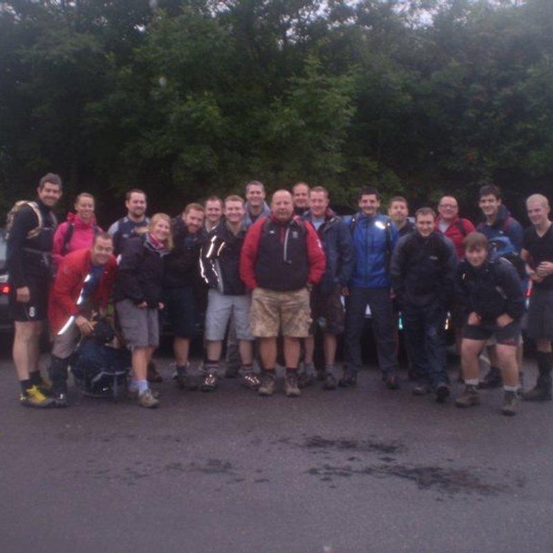 100km Walk plus Yorkshire 3 Peaks