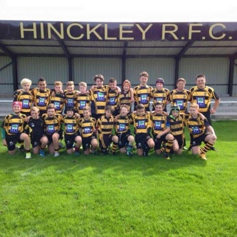 Oadby Wyg 0 - 111 HRFC U14's