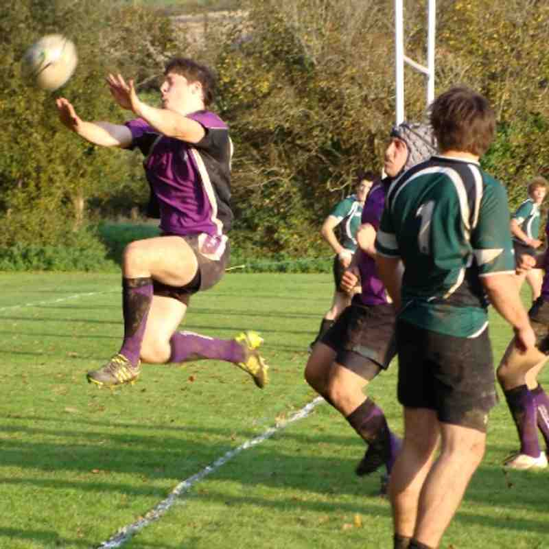 Exmouth Colts Vs Sidmouth Colts 12/11/11