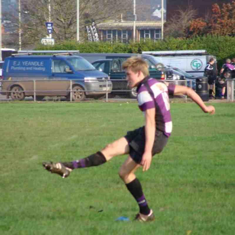 Exmouth U16's Vs Paignton U16's Cup Game