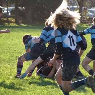 Exmouth U16's Victory over Tiverton