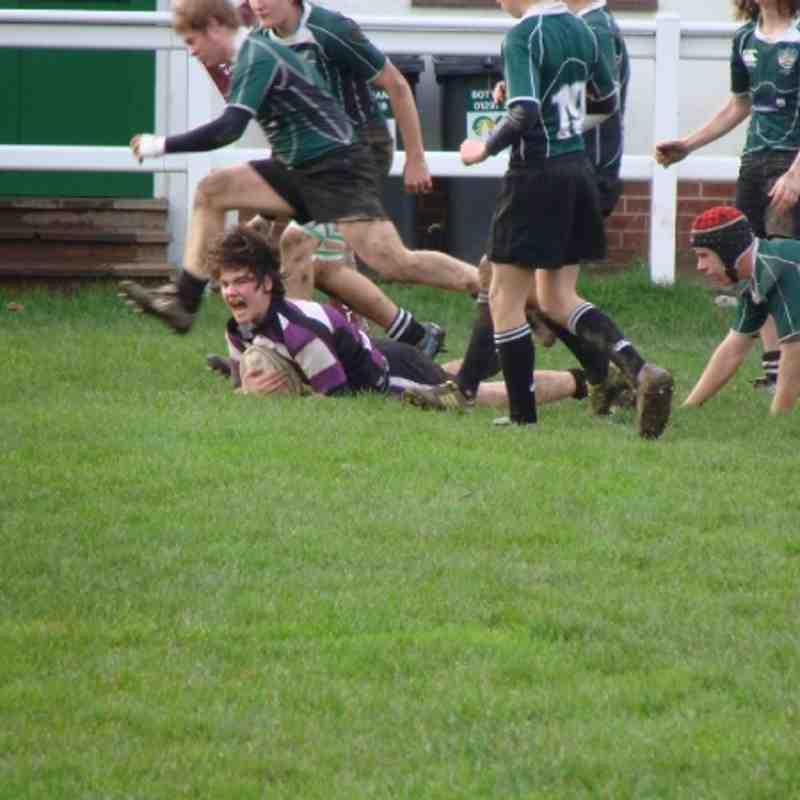 Cockles U16's Vs Sidmouth