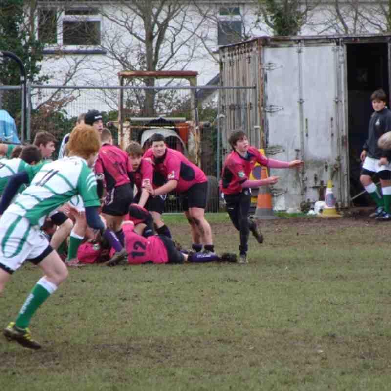 Cockles U16's -U15's Vs Devon U15's