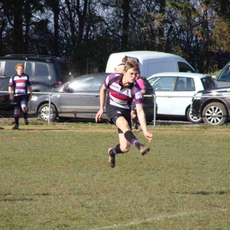 Exmouth U16's Vs Torquay (Cup Game)