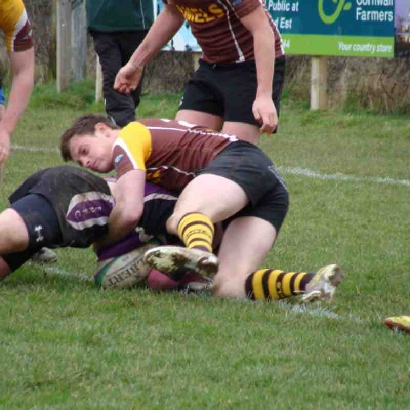 Cockles U16's/U17's Win At Wadebridge