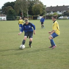 2011-10-09 - Eastbourne Girls U18 (League)