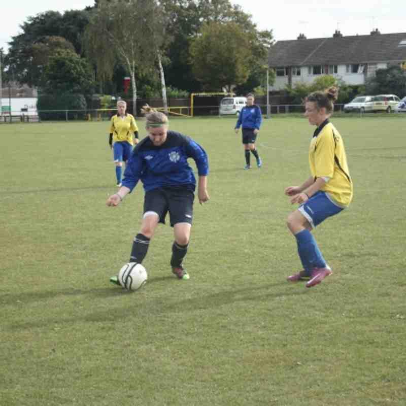 2011-10-09 - Eastbourne Girls U18 (League)