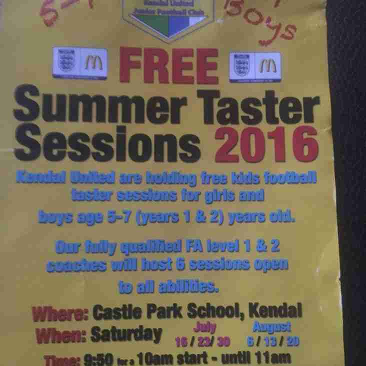Free summer Soccer school - 5 to 7 yr olds