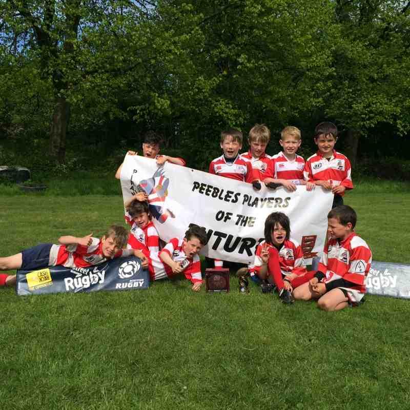 P4 Piranhas winning PCS tournament at Cartha Queens Park