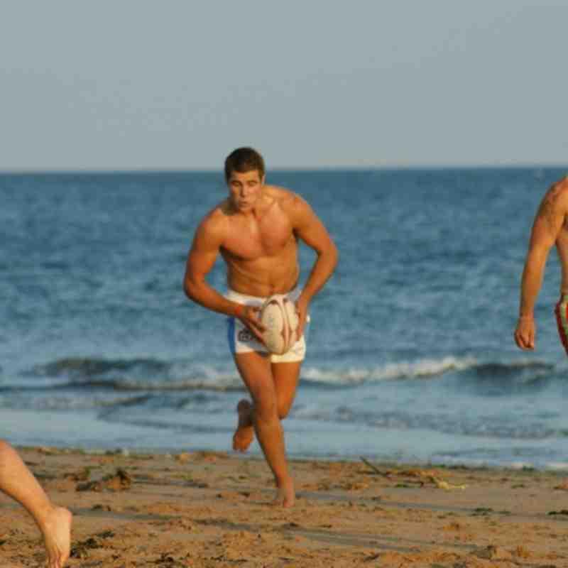Seniors Beach Training- Ouch!!