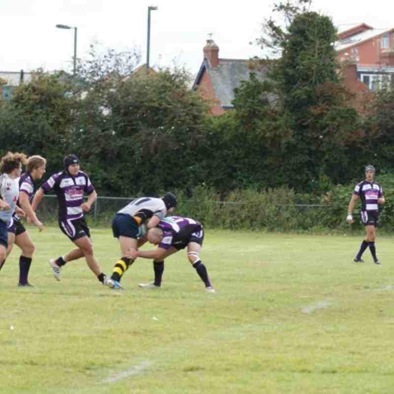 Exmouth V Oxford Harlequins 22-09-2012