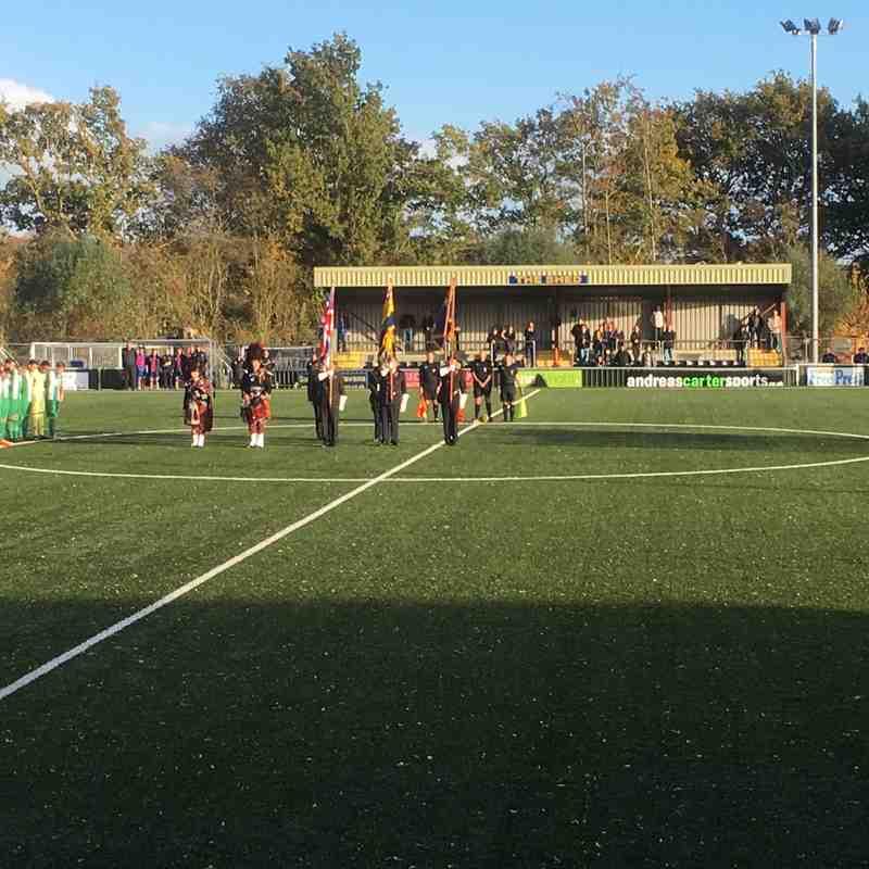 AFC Sudbury v Basildon United 10/11/18