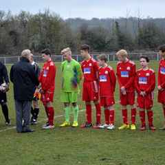 Dynamos Under 15's Challenge Cup Final