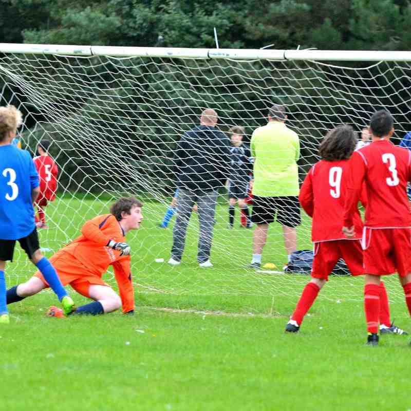 Worthing Dynamos U14 v Midhurst & Easebourne 13-9-2015
