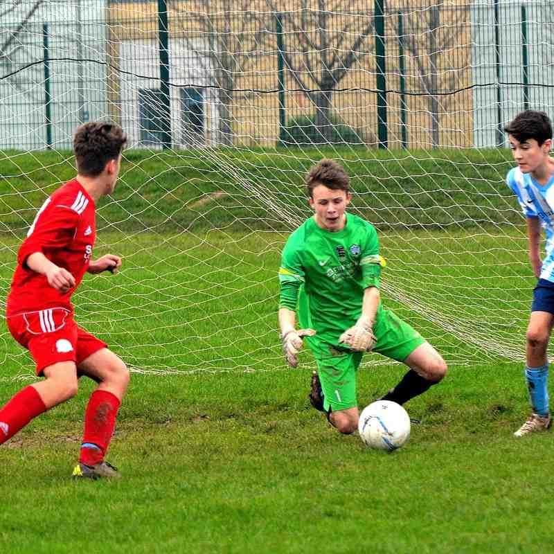 Worthing Dynamos U15 v Worthing United 13-12 2015