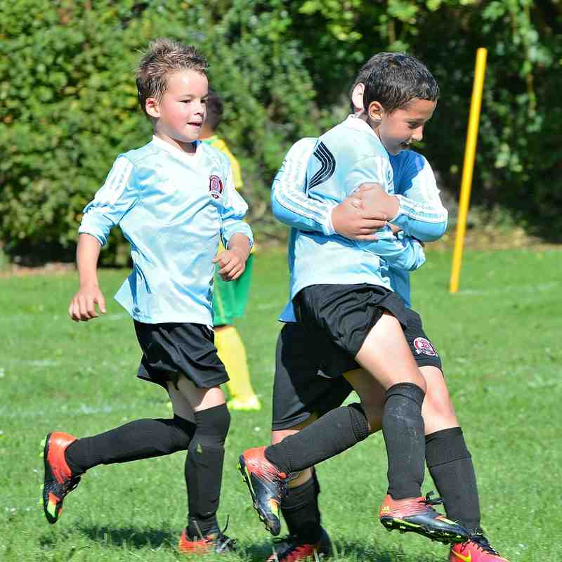 Worthing Dynamos U9 Blue V Worthing Minors 11-9-2016
