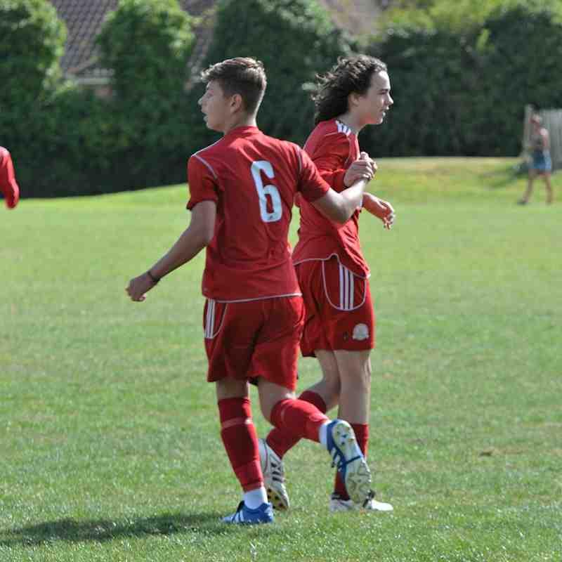 Worthing Town Red v Worthing Dynamos U15 25-9-2016
